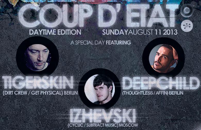 Coup d'État • Tigerskin & Deepchild