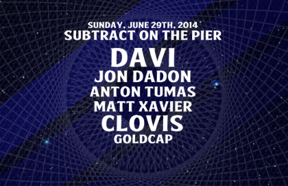Subtract On The Pier 001: DAVÍ & Goldcap