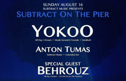 Subtract On The Pier 010: YokoO & Behrouz