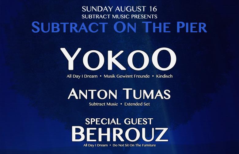 Subtract On The Pier 010: YokoO & Behrouz