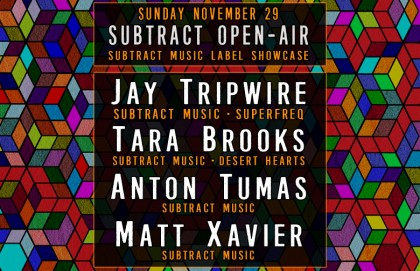 Subtract Open Air • Jay Tripwire