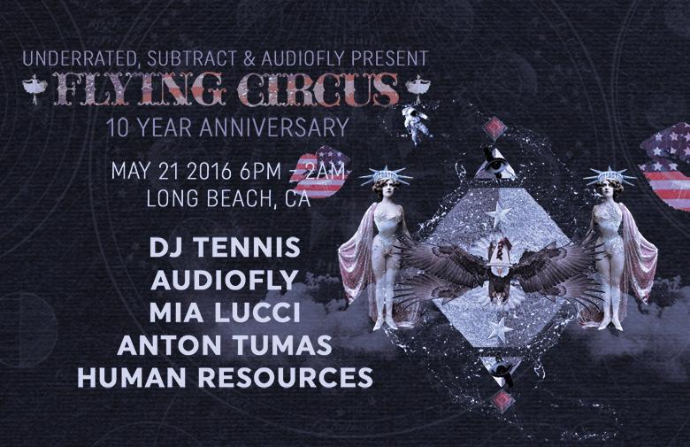 Flying Circus 10 Year Anniversary