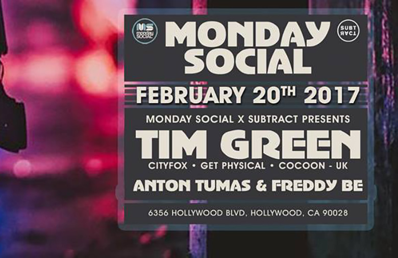 Subtract x Monday Social w/ Tim Green