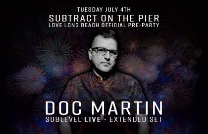 Subtract On The Pier 020: Doc Martin (Sublevel LIVE)