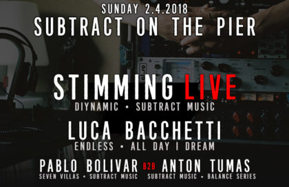 Subtract On The Pier 024: Stimming LIVE & Luca Bacchetti