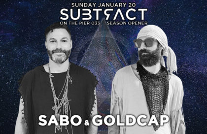 Subtract On The Pier 033: Sabo & Goldcap