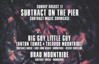 Subtract On The Pier 037: Free w/ RSVP | BIG GUY little guy