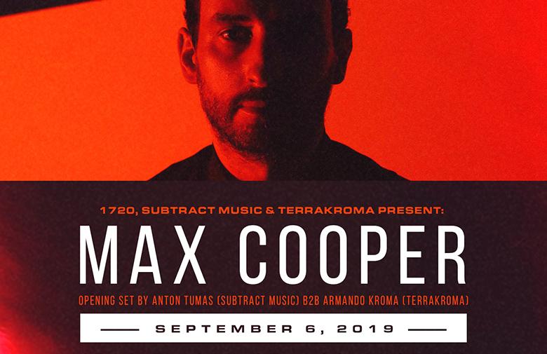 Subtract & Terrakroma Present: Max Cooper